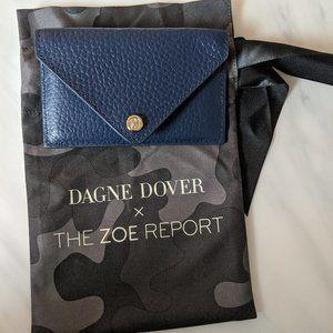 Dagne Dover x The Zoe Report blue card holder